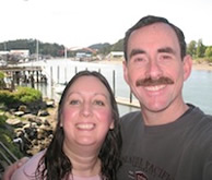 Photo of owners Ken and gina